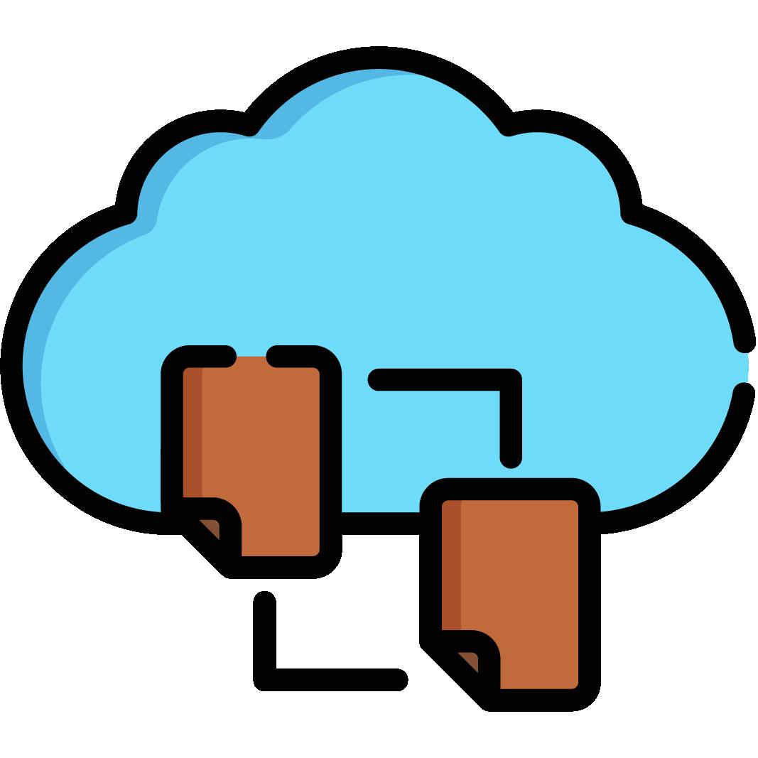 Cloud Computing & Network – Linear Color Version-36
